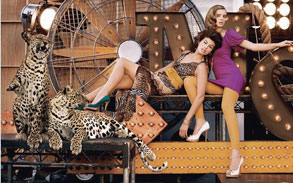 Leopards fashion ad