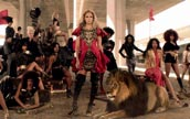 Beyonce Music Video Felix the Lion